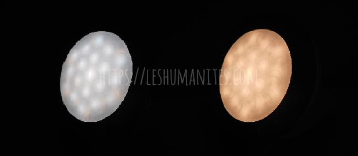 光目覚まし時計inti4(インティ4) 白色LED・暖色LED